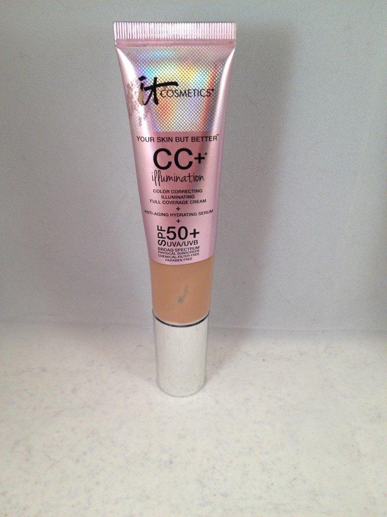 It Cosmetics Your Skin But Better CC+ Cream Illumination With SPF 50+ Tan liquid foundation