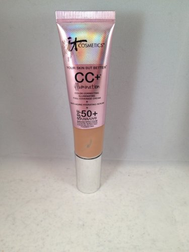 It Cosmetics Your Skin But Better CC+ Cream Illumination With SPF 50+ Tan liquid foundation