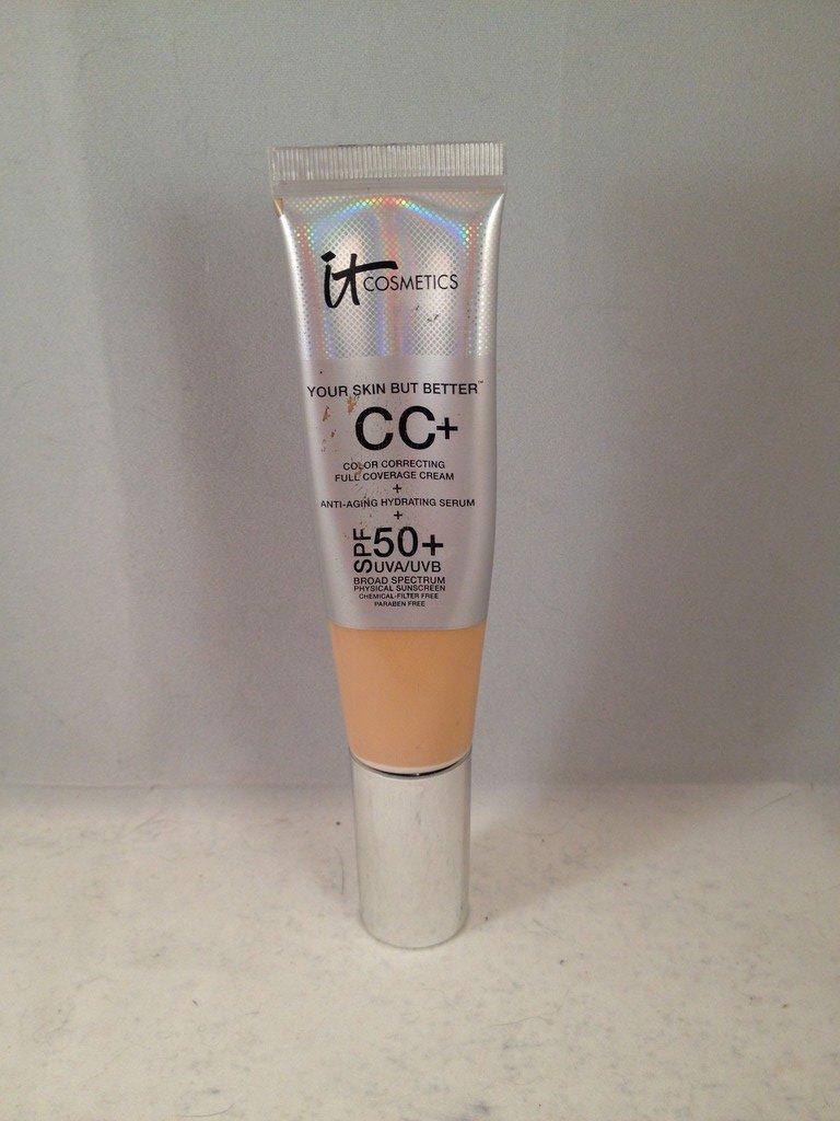 It Cosmetics Your Skin But Better CC+ Cream With SPF 50+ Medium liquid foundation