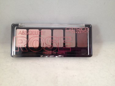 Catrice Cosmetics Absolute Rose Eyeshadow Palette #010 Frankie Rose To Hollywood eye shadow 6 shades