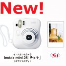 BRAND NEW Fuji Fujifilm Instax Mini 25 Instant Camera White