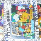 Pokemon Stickers Ash Pikachu Meowth Raichu LOT 3