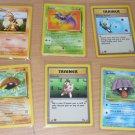 Pokemon Trading Card Cards 1999 Growlithe Zubat 6