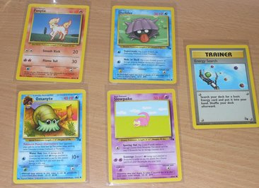 Pokemon Trading Card Cards 1999 Ponyta Slowpoke 5