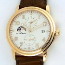 Blancpain 2860 Double Time Zone 18k Rose Gold