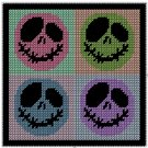 Emo Wallhanging Plastic Canvas E-Pattern