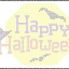 Happy Halloween Plastic Canvas E-Pattern