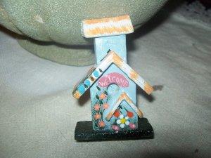 Cute Birdhouse Kitchen Magnet