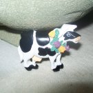 Cute Country Cow Kitchen Magnet