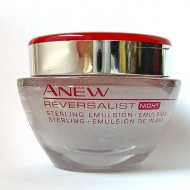 Avon Anew Reversalift Night Sterling Emulsion 1.7 fl. oz.