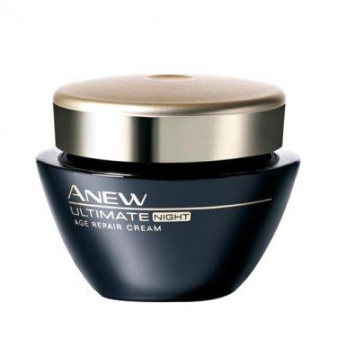 Avon Anew Ultimate Age Repair Cream - Night - Travel Size 0.25 oz.