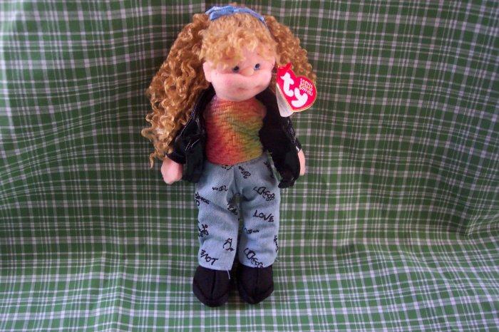 TY Teenie Beanie Boppers, Paula Plappertasche Doll