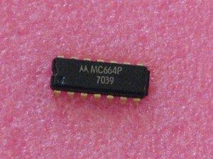 MC664P Master Slave R-S Flip Flop IC