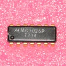 MC3026P Dual Four Input AND Power Gate Linear Logic IC