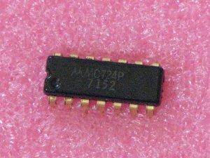MC724P Quad 2-Input Gates
