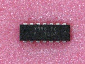 7486PC Exclusive-OR; 2-Input Logic Gate  IC