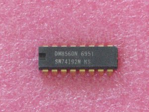 SN74192N Decade; BCD-Output; Up/Down IC
