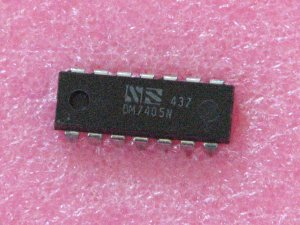 DM7405N Inverting Buffer Gate IC