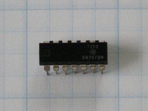 SN7473N Dual  J-K Flip-Flops Digital ICs