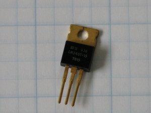 LM340T-15   ThreeTerminal Positive Fixed Voltage Regulators