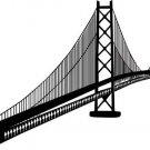 *NEW* Oakland Bay Bridge San Francisco Vinyl Sticker Decal