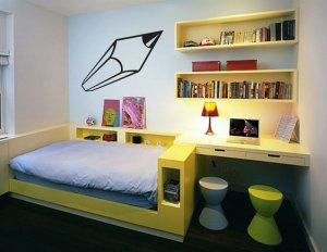 *NEW* Huge Pencil Vinyl Wall Sticker Decal Great for a Kids Room