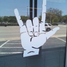 *NEW* Huge Sign Language I Love You Vinyl Wall Sticker Decal