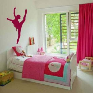 *NEW* Ballerina Dancer Vinyl Wall Sticker Decal