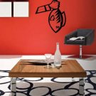 *NEW* Caught Fish Vinyl Wall Sticker Decal