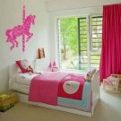 *NEW* Merry Go Round Carousel Horse Vinyl Wall Sticker