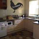 Rooster Kitchen Chalkboard Vinyl Wall Sticker Decal
