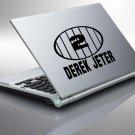 *NEW* Derek Jeter #2 Yankee Jersey Vinyl Sticker Decal