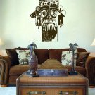 Ceremonial Tribal Totem Mask Vinyl Wall Sticker Decal