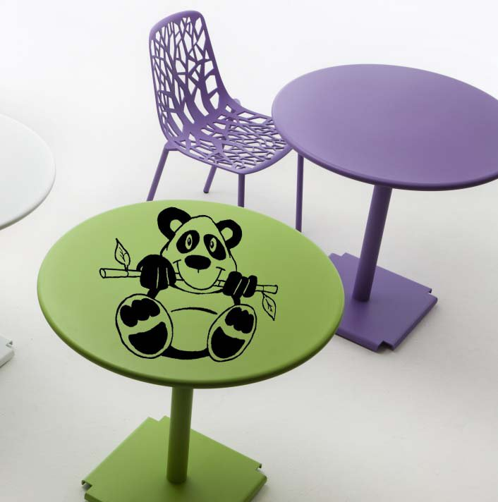 Laptop Panda Design Vinyl Sticker Decal