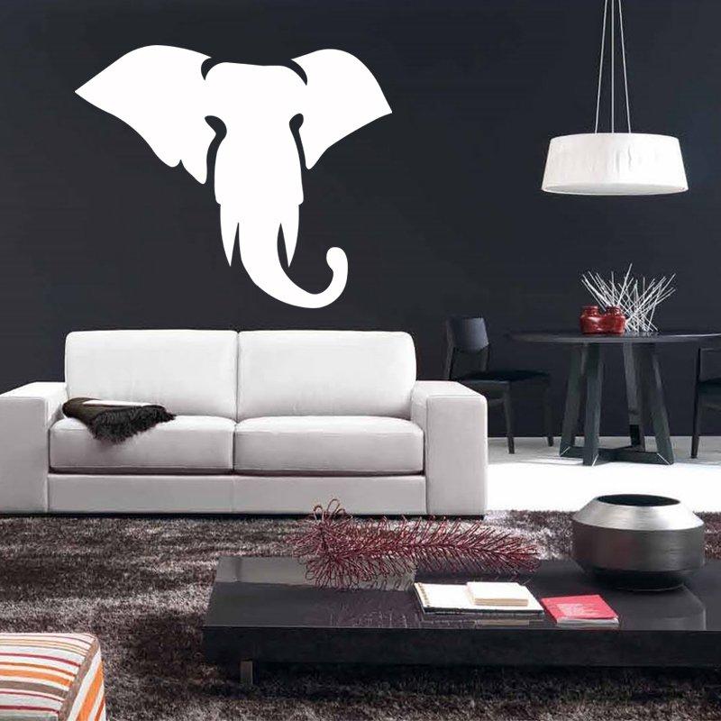 Huge Elephant Vinyl Wall Sticker Decal