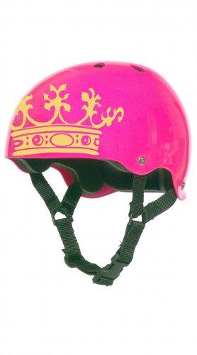 Roller Derby Crown Helmet Vinyl Sticker Decal