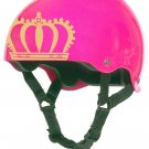 Roller Derby Crown Helmet Vinyl Sticker Decal