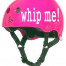 Roller Derby Helmet Vinyl Sticker Decal (Whip Me or Punk Roller Girl)