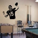 Large TIM TEBOW Denver Broncos Football Vinyl Wall Sticker Decal