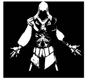 Large Assassin's Creed Xbox Video Game Vinyl Wall Sticker