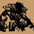 Large World of Warcraft WORGEN Cataclysm Wow Vinyl Wall Sticker