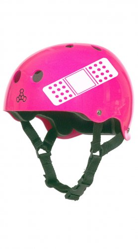 Roller Derby Helmet Vinyl Sticker Decal (Band Aid or No Panties)