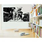Wizard of Oz Yellow Brick Road Vinyl Wall Sticker Decal