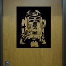 Large Star Wars R2D2 Vinyl Wall Sticker Decal
