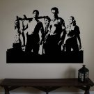 The WALKING DEAD Cast Zombie Vinyl Wall Sticker Decal
