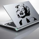 Laptop MARILYN MONROE Design Vinyl Sticker Decal