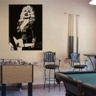 Large Dolly Parton Vinyl Wall Sticker Decal