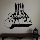 Large Clockwork Orange Movie Vinyl Wall Sticker Decal
