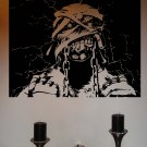 Iron Maiden Eddie Powerslave Metal Vinyl Wall Sticker Decal