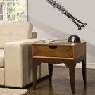 Orchestral Clarinet Vinyl Wall Sticker Decal